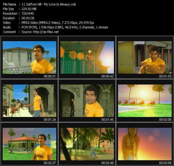 Saffron Hill Feat. Ben Onono video - My Love Is Always