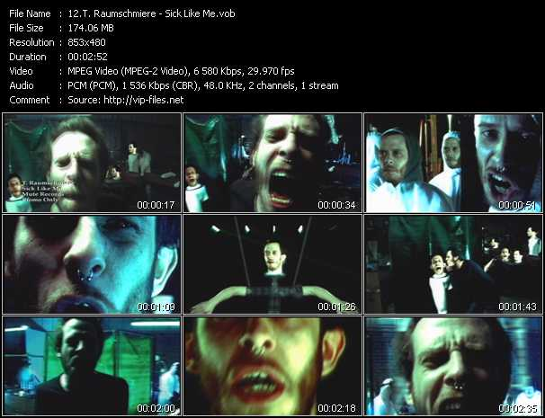 T. Raumschmiere music video Publish2