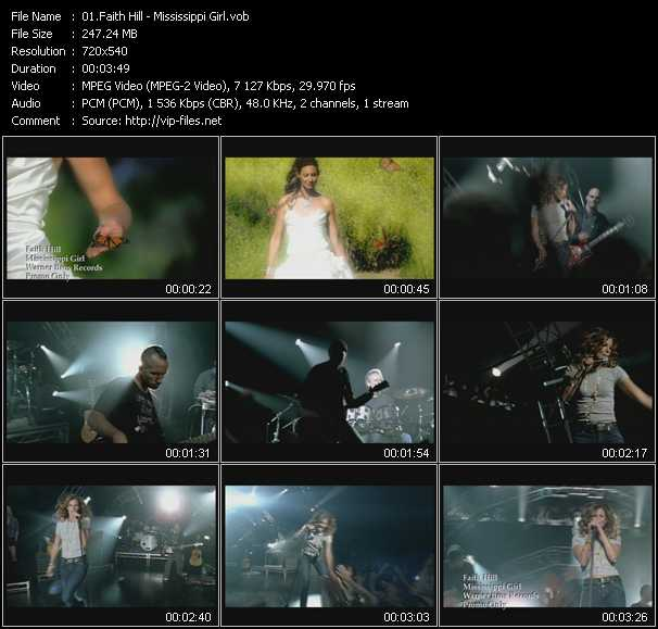 Faith Hill music video Publish2