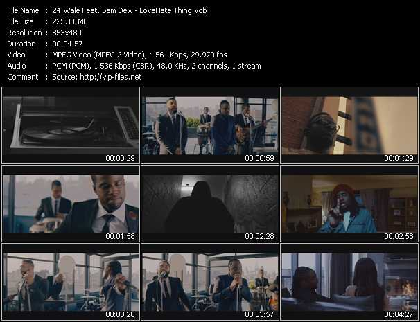 Wale Feat. Sam Dew music video Publish2
