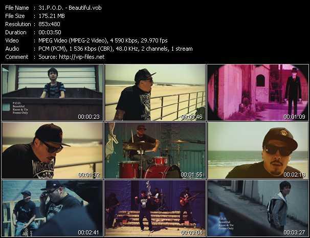 P.O.D. video - Beautiful