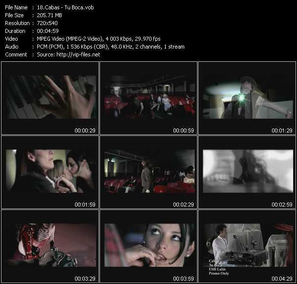 Cabas video - Tu Boca