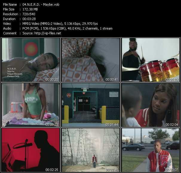 N.E.R.D. music video Publish2
