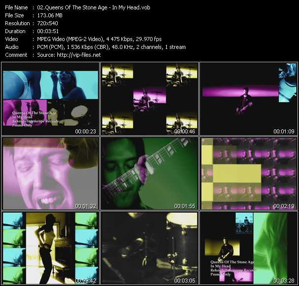 Queens Of The Stone Age music video Publish2