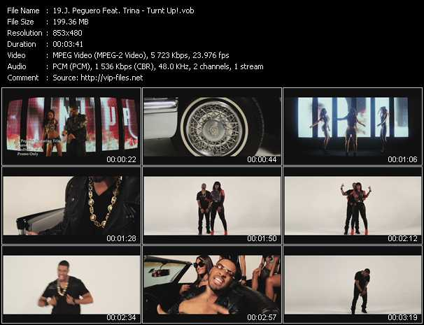 J. Peguero Feat. Trina video - Turnt Up!