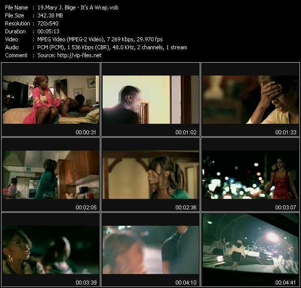 Mary J. Blige video - It's A Wrap