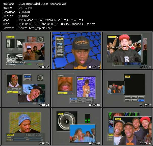 A Tribe Called Quest music video Publish2