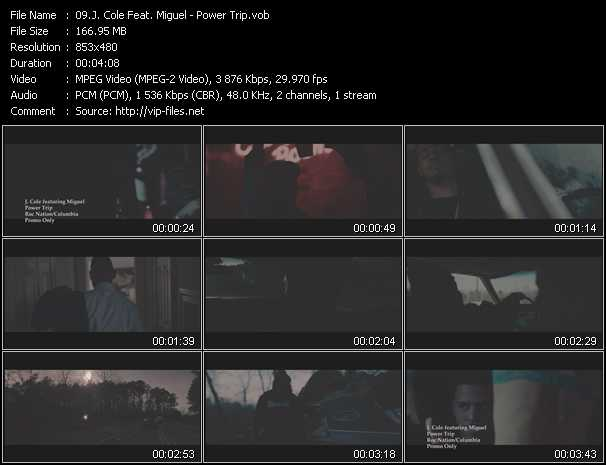 J. Cole Feat. Miguel music video Publish2