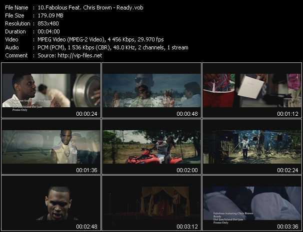Fabolous Feat. Chris Brown video - Ready