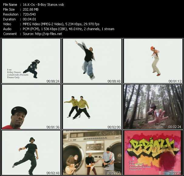 K-Os video - B-Boy Stance