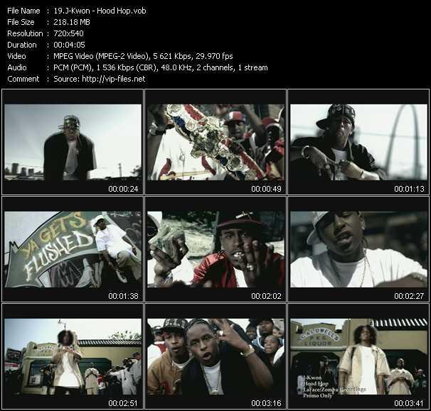 J-Kwon video - Hood Hop