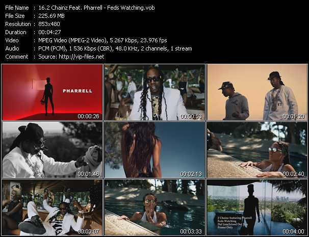 2 Chainz Feat. Pharrell Williams video - Feds Watching
