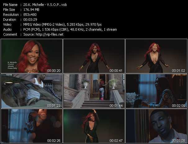 K. Michelle video - V.S.O.P.