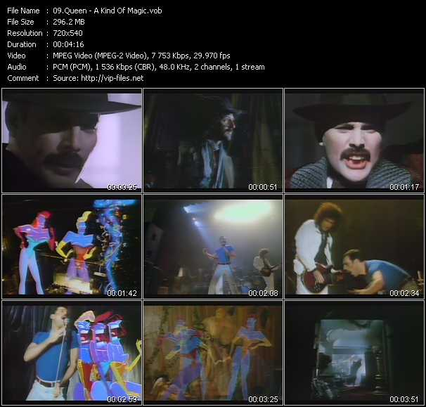 Queen video - A Kind Of Magic