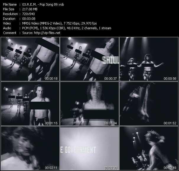 R.E.M. video - Pop Song 89