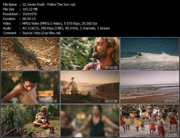 Xavier Rudd video - Follow The Sun