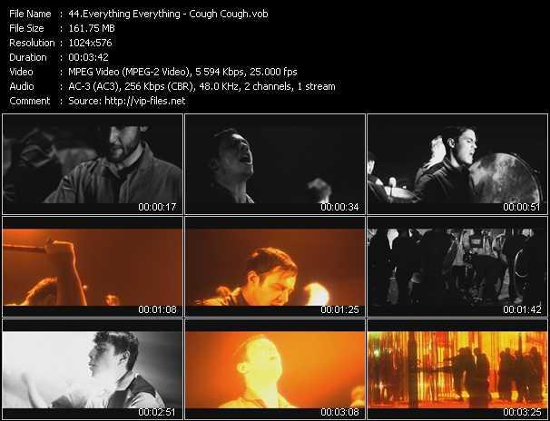 Everything Everything video - Cough Cough