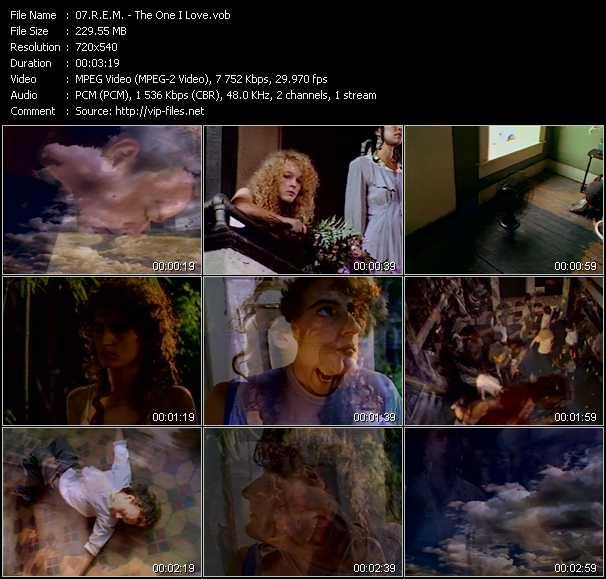 R.E.M. video - The One I Love