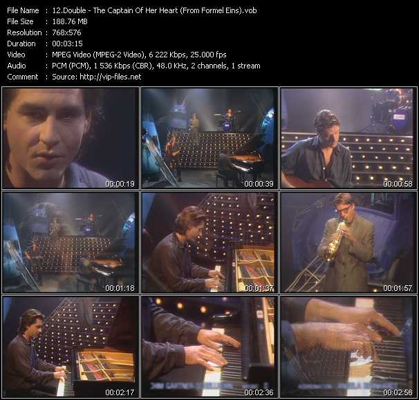 Double video - The Captain Of Her Heart (From Formel Eins)