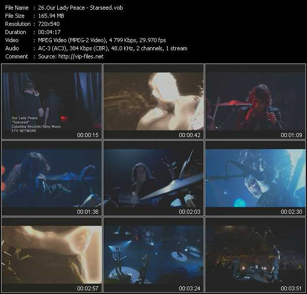 Our Lady Peace music video Publish2