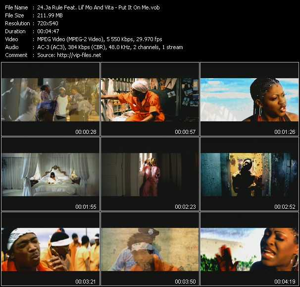 Ja Rule Feat. Lil' Mo And Vita video - Put It On Me