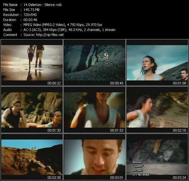 Delerium video - Silence