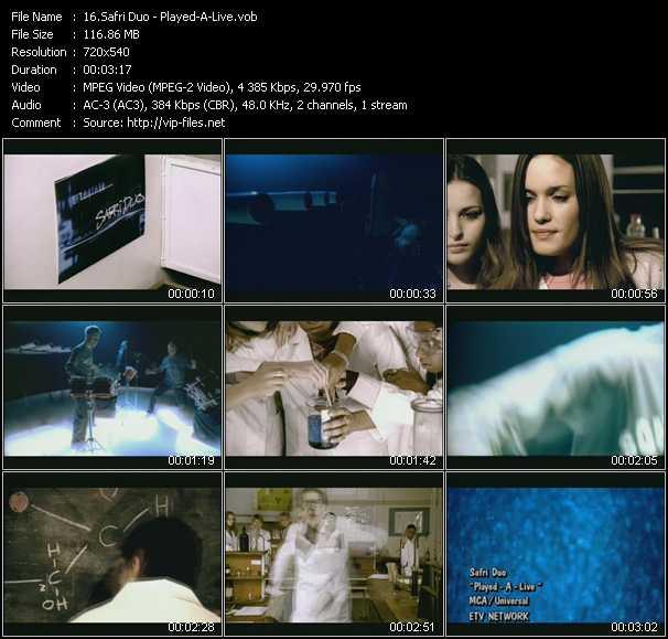 Safri Duo music video Publish2