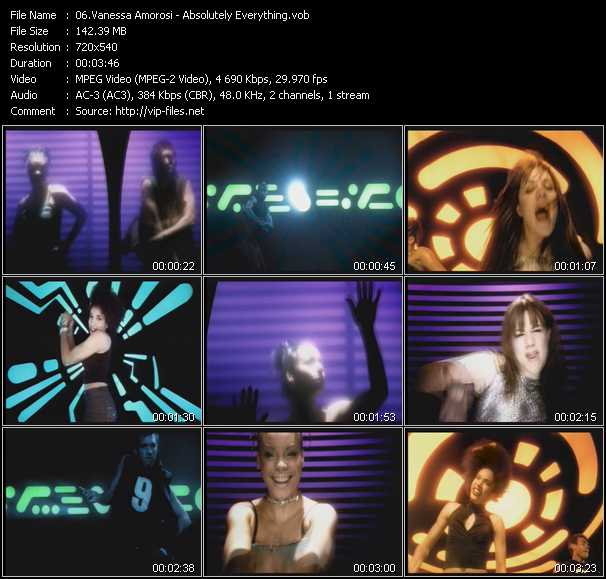 Vanessa Amorosi music video Publish2
