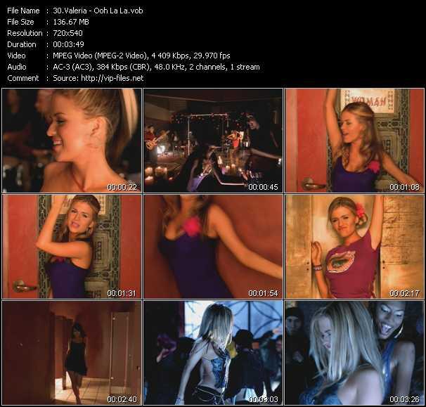 Valeria video - Ooh La La