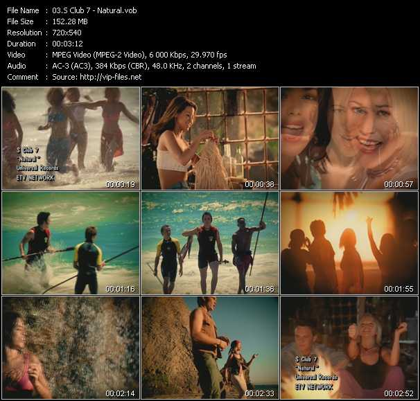 S Club 7 video - Natural