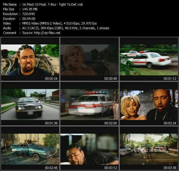 Mack 10 Feat. T-Boz music video Publish2