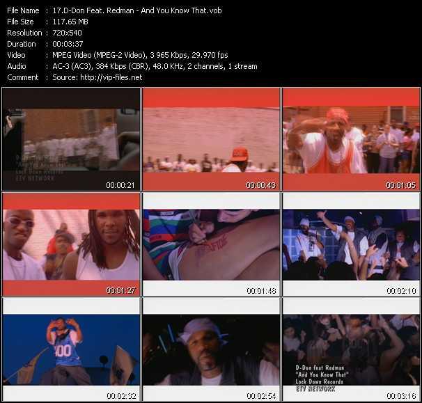 D-Don Feat. Redman music video Publish2