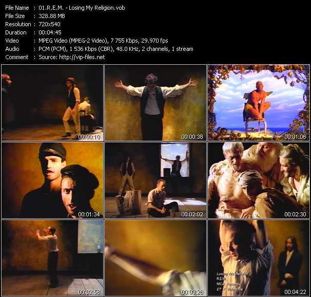 R.E.M. video - Losing My Religion