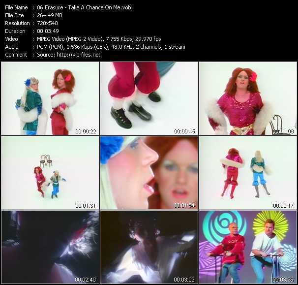 Erasure video - Take A Chance On Me
