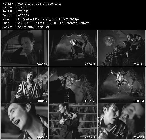 K.D. Lang music video Publish2