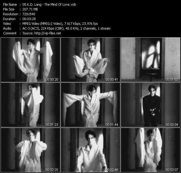 K.D. Lang music video Publish2