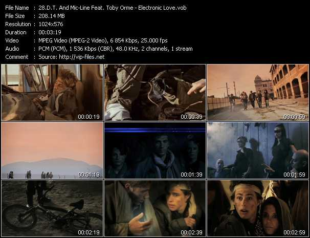 D.T. And Mic-Line Feat. Toby Orme video - Electronic Love
