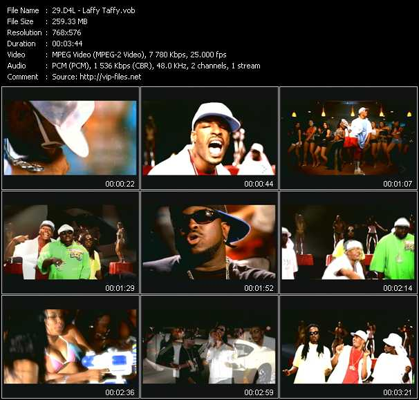 D4L video - Laffy Taffy