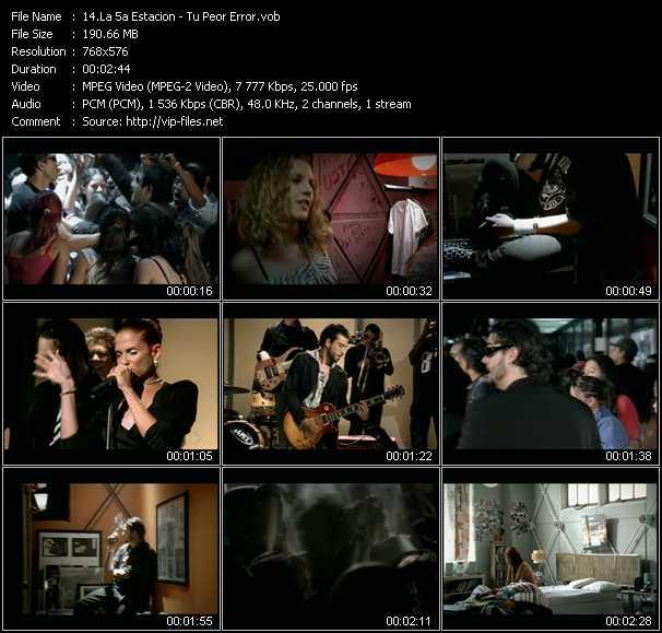 La Quinta Estacion (La 5a Estacion) music video Publish2