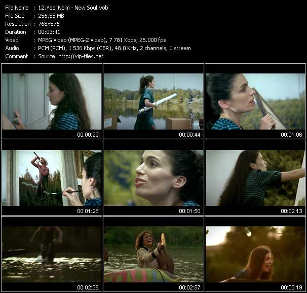 Yael Naim music video Publish2