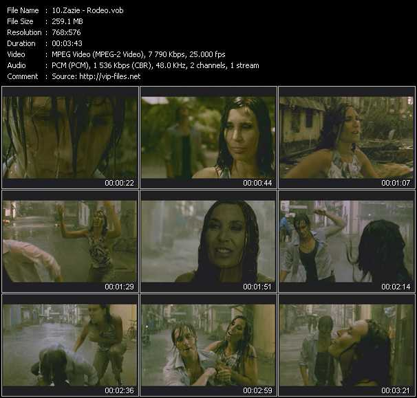 Zazie music video Publish2