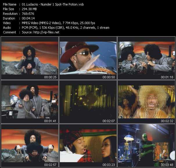 Ludacris video - Numder 1 Spot - The Potion
