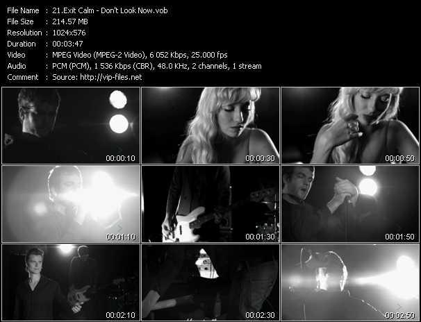 Exit Calm music video Publish2