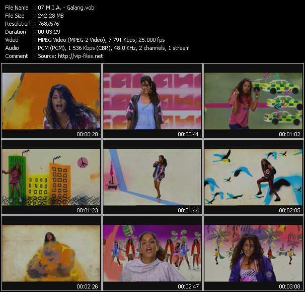 M.I.A. video - Galang
