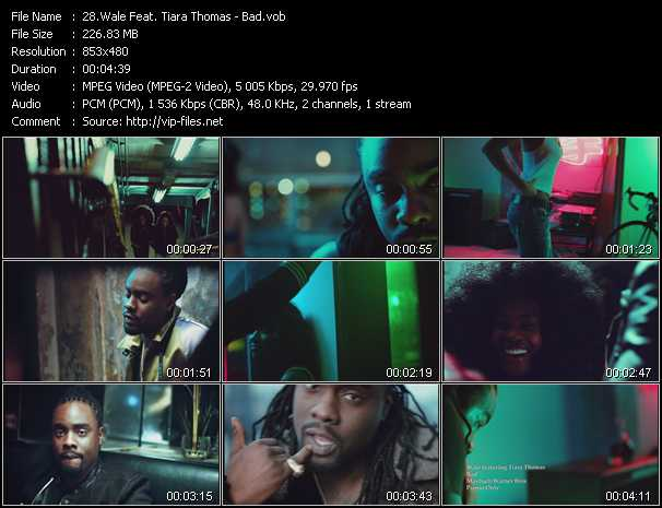 Wale Feat. Tiara Thomas music video Publish2