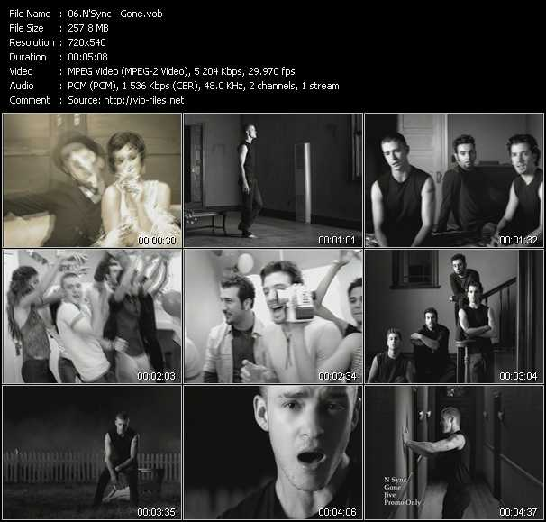 N'Sync music video Publish2