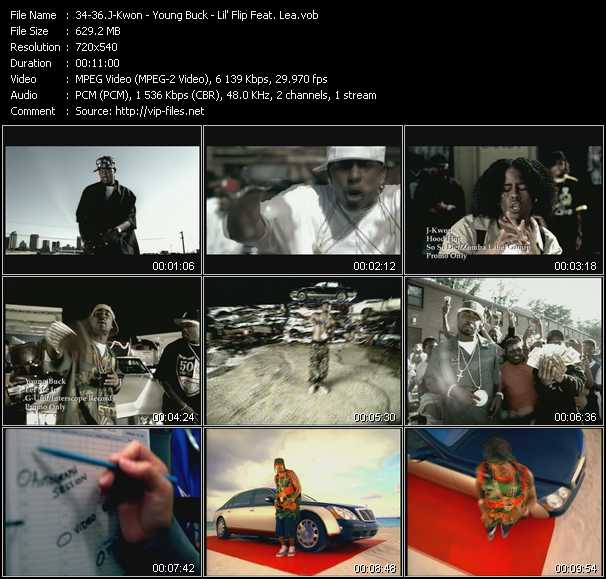 J-Kwon - Young Buck - Lil' Flip Feat. Lea video - Hood Hop - Let Me In - Sunshine