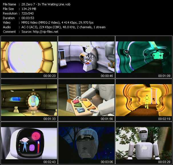 Zero 7 music video Publish2