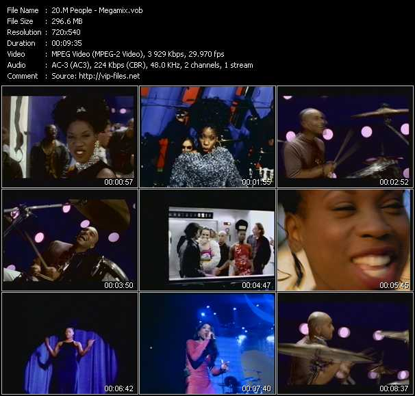 M People video - Megamix