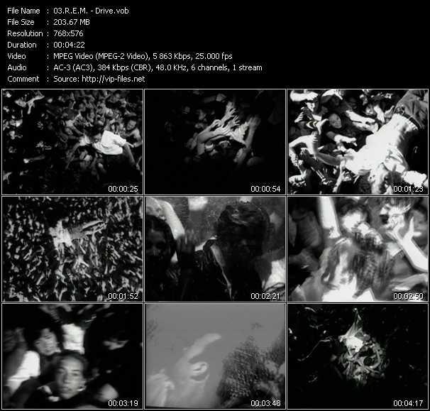 R.E.M. video - Drive